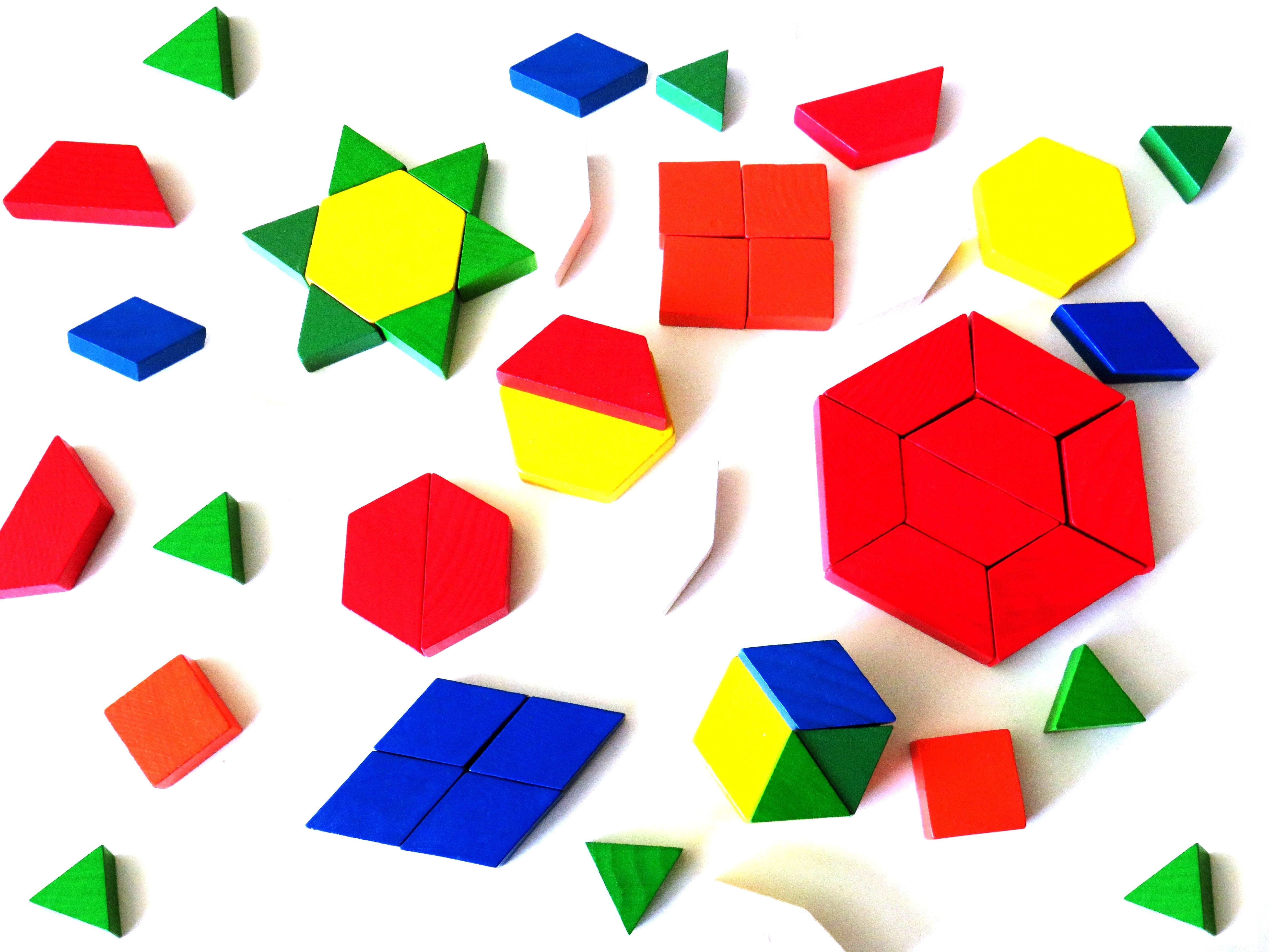 Early Geometry Tangrams